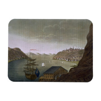 Quebec and the St. Lawrence River, plate 4 from 'L Rectangular Magnets