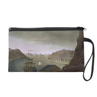 Quebec and the St. Lawrence River, plate 4 from 'L Wristlet Purse