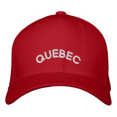 Quebec Baseball Cap Embroidered Canada Cap