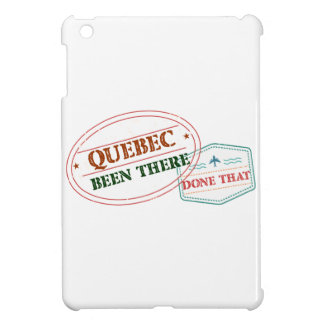 Quebec Been there done that iPad Mini Covers