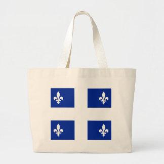 Quebec Bolsa Tela Grande