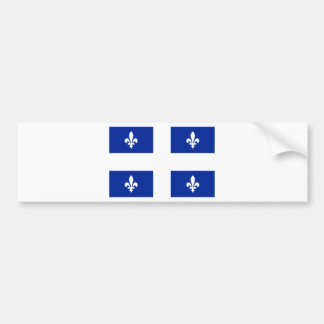 Quebec Etiqueta De Parachoque