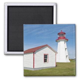 Quebec, Canada. Cap D'Espoir Lighthouse. Magnet