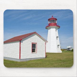 Quebec, Canada. Cap D'Espoir Lighthouse. Mouse Pad
