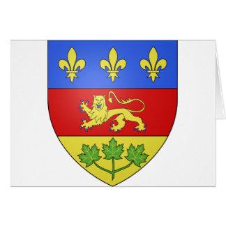 Quebec, Canada Card