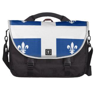 Quebec (Canada) Flag Laptop Bag