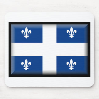 Quebec (Canada) Flag Mouse Pad