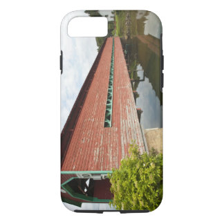 Quebec, Canada. Galipeault covered bridge in iPhone 7 Case