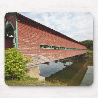 Quebec, Canada. Galipeault covered bridge in Mouse Pad