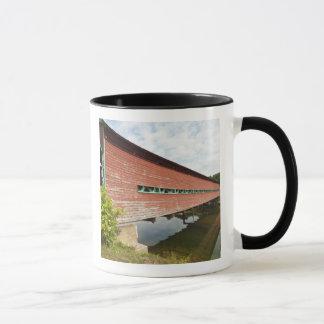 Quebec, Canada. Galipeault covered bridge in Mug