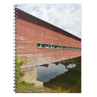 Quebec, Canada. Galipeault covered bridge in Notebook