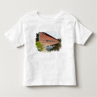 Quebec, Canada. Galipeault covered bridge in Toddler T-shirt