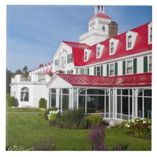 Quebec, Canada. Historic Hotel Tadoussac, 2 Ceramic Tile