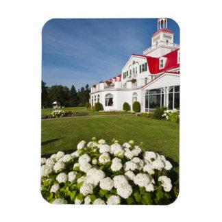 Quebec, Canada. Historic Hotel Tadoussac, 3 Magnet