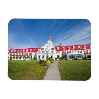Quebec, Canada. Historic Hotel Tadoussac, Magnet