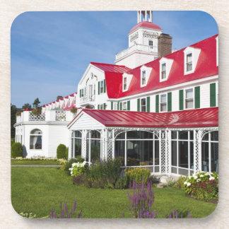 Quebec, Canadá. Hotel histórico Tadoussac, 2 Posavasos De Bebida