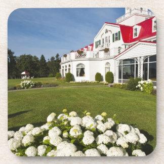 Quebec, Canadá. Hotel histórico Tadoussac, 3 Posavasos