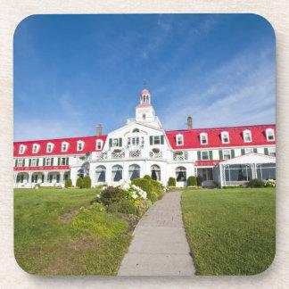 Quebec, Canadá. Hotel histórico Tadoussac, Posavasos De Bebida