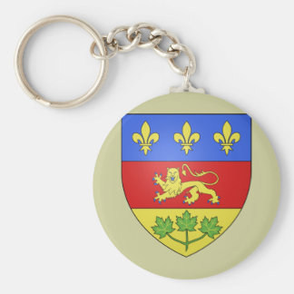 Quebec, Canada Keychain