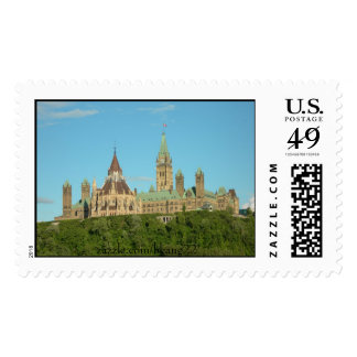 Quebec Canada Postage Stamps
