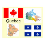 Quebec Canadá Postal
