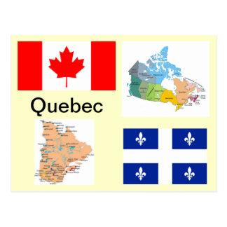 Quebec Canada Postcard