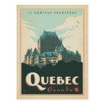 Quebec, Canadá Tarjeta Postal