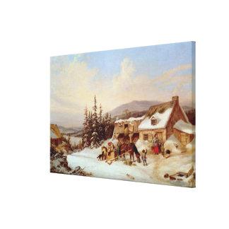 Quebec Canvas Print