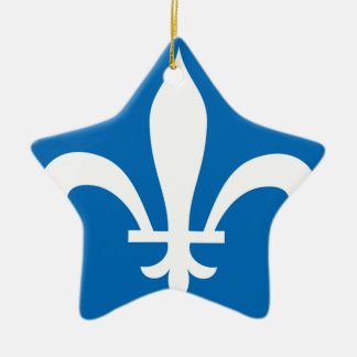 QUEBEC CERAMIC ORNAMENT