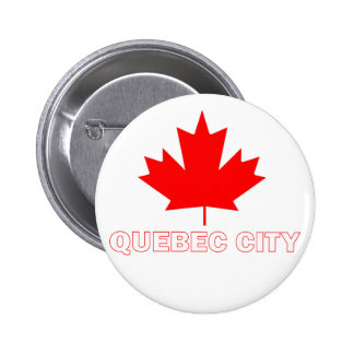 Quebec City Pinback Button
