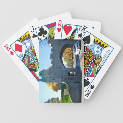 Quebec City Canada Castle Gates Bicycle Playing Cards