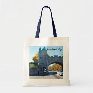 Quebec City Canada Castle Gates Tote Bag