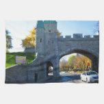 Quebec City Canada Castle Gates Towel