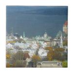 Quebec City Canada Waterfront Ceramic Tiles