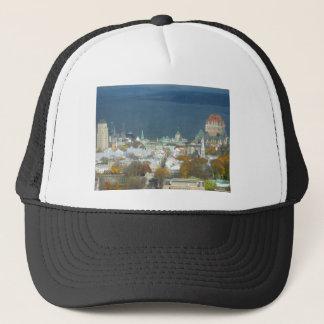 Quebec City Canada Waterfront Trucker Hat