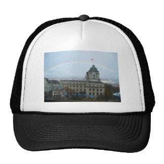 Quebec City Canda Waterfront Trucker Hat