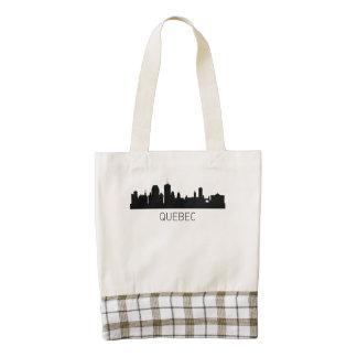 Quebec City Cityscape Zazzle HEART Tote Bag