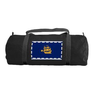 QUEBEC CITY Flag Gym Duffel Bag