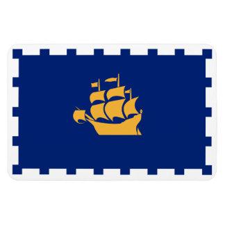 QUEBEC CITY Flag Magnet