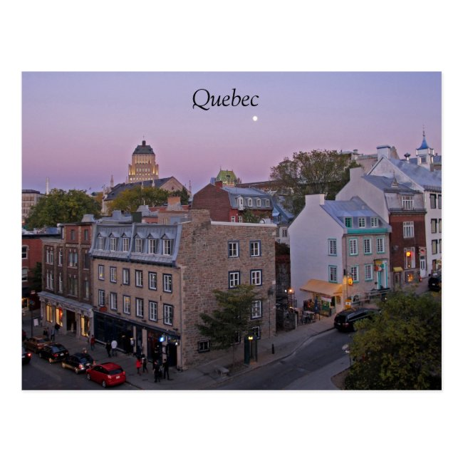 Quebec City Postcard