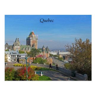Quebec City Postcard