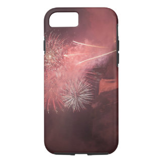 Quebec City, Quebec, Canada. Fireworks at Parc 2 iPhone 7 Case