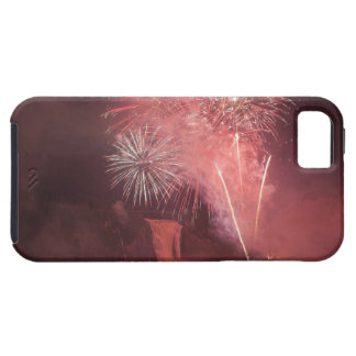 Quebec City, Quebec, Canada. Fireworks at Parc 2 iPhone SE/5/5s Case