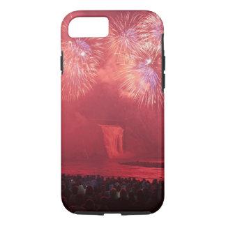 Quebec City, Quebec, Canada. Fireworks at Parc iPhone 8/7 Case