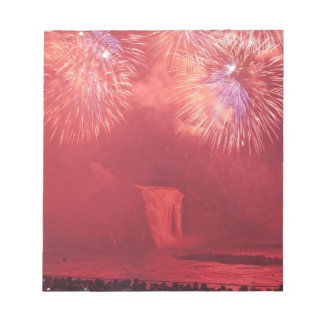 Quebec City, Quebec, Canada. Fireworks at Parc Notepad