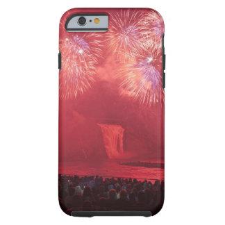 Quebec City, Quebec, Canada. Fireworks at Parc Tough iPhone 6 Case