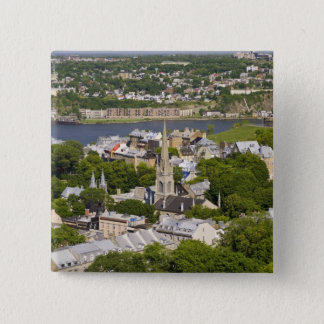 Quebec City, Quebec, Canada. Looking down on the Button