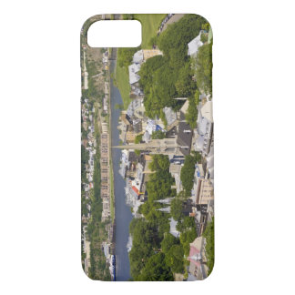 Quebec City, Quebec, Canada. Looking down on the iPhone 7 Case