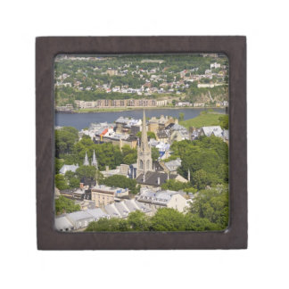 Quebec City, Quebec, Canada. Looking down on the Keepsake Box