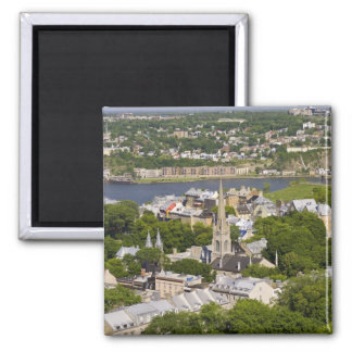 Quebec City, Quebec, Canada. Looking down on the Magnet